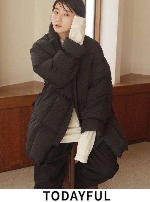 TODAYFUL (トゥデイフル)<br>Standcollar Down Jacket  21秋冬.予約3【12020203】ダウン 入荷時期:11月中旬~