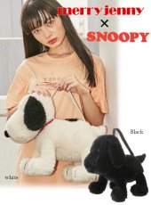 merry jenny (メリージェニー)<br>'snoopy bag' 20秋冬2 【282041900601】ハンド・ショルダーバッグ