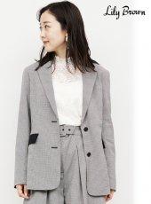 Lily Brown (リリーブラウン)<br>テーラードジャケット  20秋冬【LWFJ204077】ジャケット