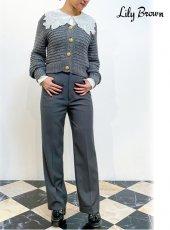 Lily Brown (リリーブラウン)<br>クラシックストレートパンツ  20秋冬【LWFP204078】パンツ