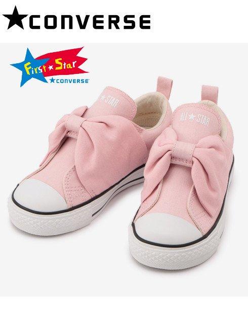 converse (コンバース)<br>CHILD ALL STAR N RIBBONBELT V-1 OX ピンク  20秋冬【37300670】スニーカー