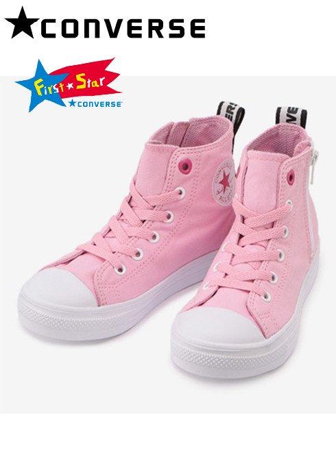 converse (コンバース)<br>CHILD ALL STAR LIGHT LOGOHEARTS Z HI ピンク  20秋冬【37300720】スニーカー