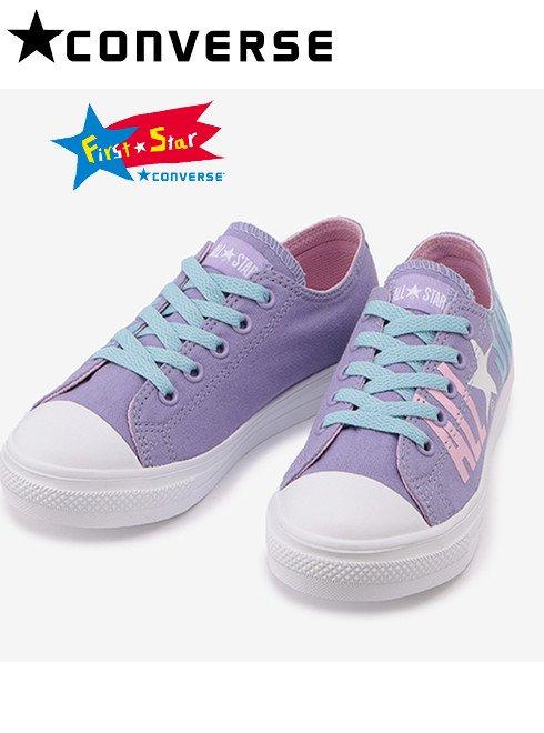 converse (コンバース)<br>CHILD ALL STAR LIGHTPASTELLOGO OX ライラック  【37300731】スニーカー