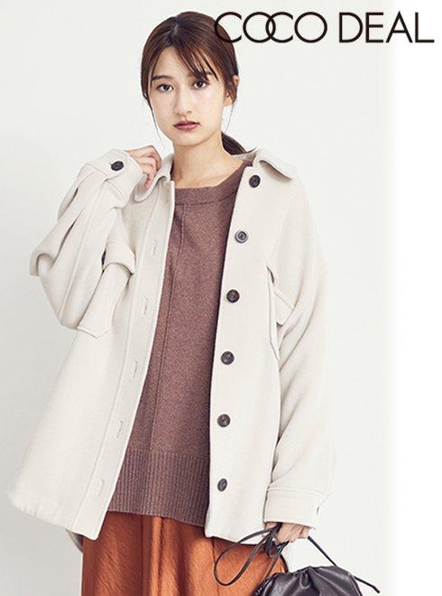 COCODEAL (ココディール)<br>オーバーシャツジャケット  20秋冬.【70614242】ジャケット
