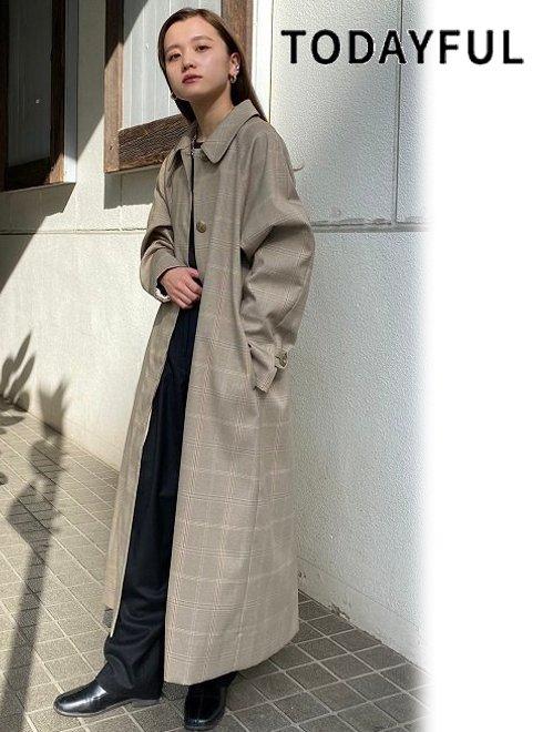 TODAYFUL (トゥデイフル)<br>Soutiencollar Twill Coat  21春夏予約2【12110004】トレンチコート  春受注会  入荷時期:2月中旬~