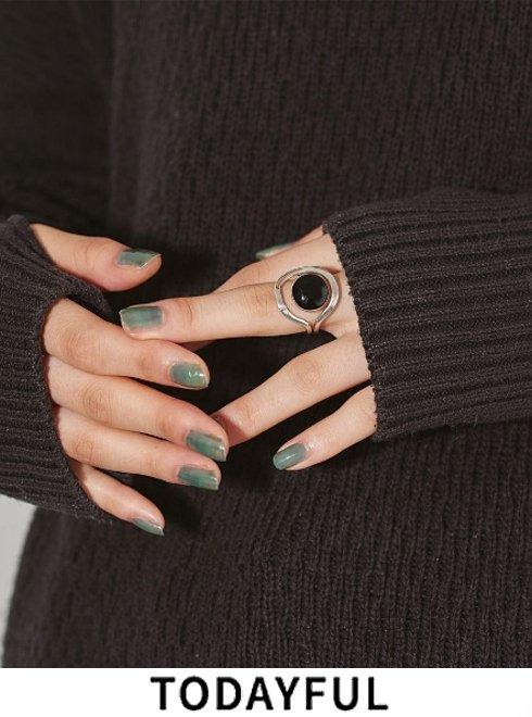 TODAYFUL (トゥデイフル)<br>Circle Stone Ring  21春夏予約【12110903】リング 入荷予定 : 1月中旬〜  春受注会