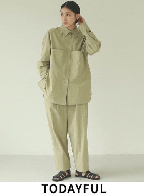 TODAYFUL (トゥデイフル)<br>Waist Gather Pants  21春夏【12110705】パンツ