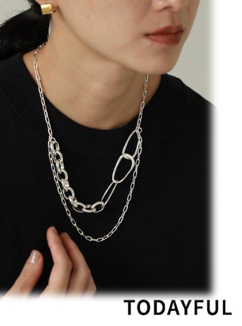 TODAYFUL (トゥデイフル)<br>Assort Chain Necklace  21春夏予約【12110919】ネックレス 入荷予定 : 3月中旬〜  春受注会