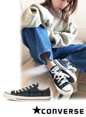 converse (コンバース)<br>オールスター US チェック OX  ネイビー  20秋冬.【31303240】スニーカー