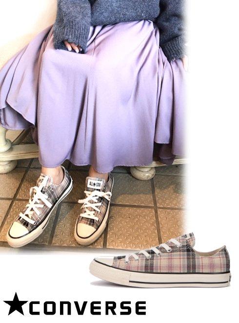 converse (コンバース)<br>オールスター US チェック OX オフホワイト  .【31303241】スニーカー  20fs