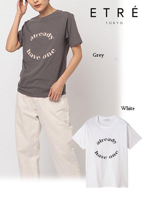ETRE TOKYO (エトレトウキョウ)<br>サークルロゴTee  21春夏【1221212066】Tシャツ