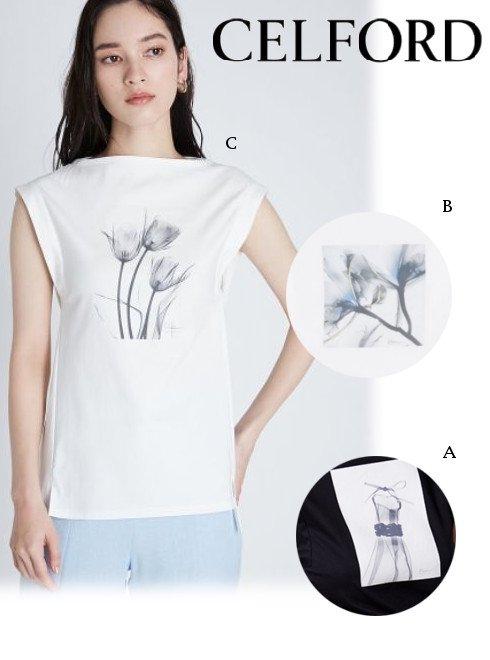 CELFORD (セルフォード)<br>コラボPTロングTシャツ  21春夏【CWCT211103】Tシャツ