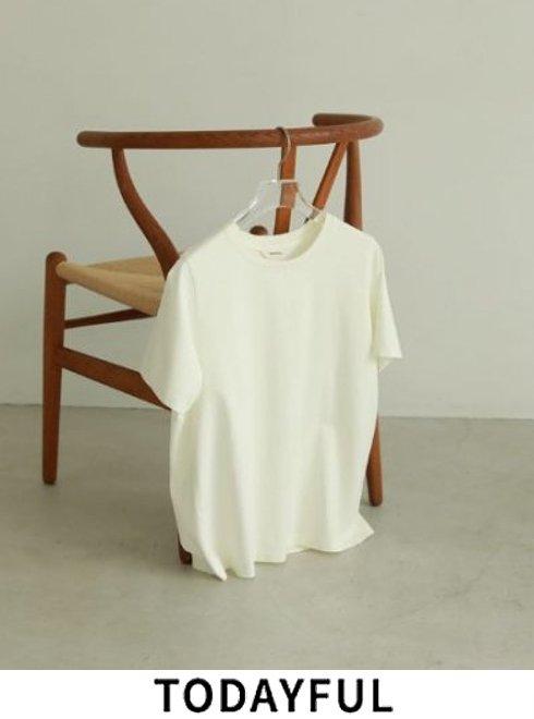 TODAYFUL (トゥデイフル)<br>Smooth Tuch T-Shirts  2021春夏.予約【12110629】Tシャツ 入荷予定 : 5月中旬〜