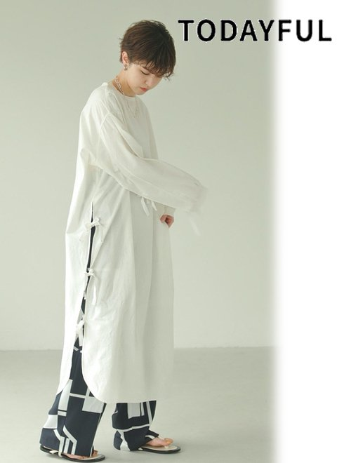 TODAYFUL (トゥデイフル)<br>Slit Surgical Dress  21春夏.予約【12110328】マキシワンピース 入荷予定 : 5月中旬〜