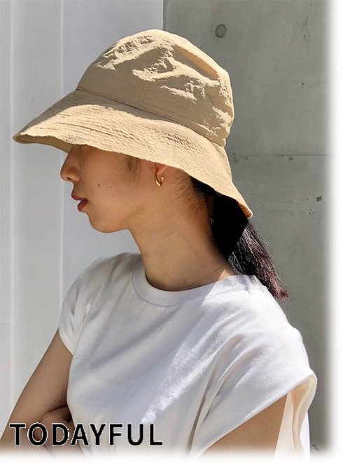 TODAYFUL (トゥデイフル)<br>Nylon Stitch Hat  21春夏.【12111050】帽子  21gw