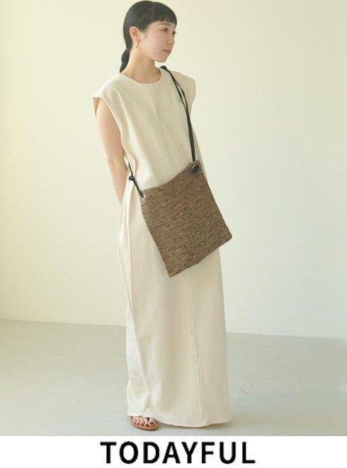 TODAYFUL (トゥデイフル)<br>Cotton Pencil Dress  2021春夏.【12110330】マキシワンピース