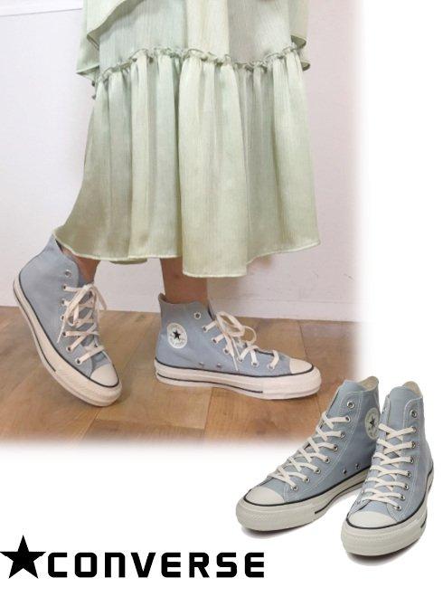 converse (コンバース)<br>ALL STAR PET-CANVAS HI ライトグレイ  21春夏【31303751】スニーカー