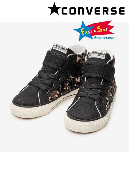 converse (コンバース)<br>KID'S PRORIDE SK PT V-1 MID レオパード CHILD  21春夏【37301030】バッグ・シューズ