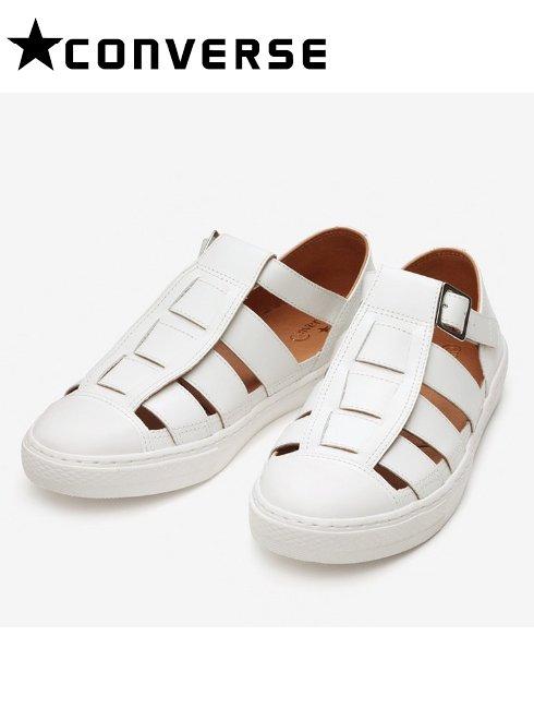 converse(コンバース)<br>オールスタークップグルカサンダルOX  WHITE  21春夏【31303501】スニーカー