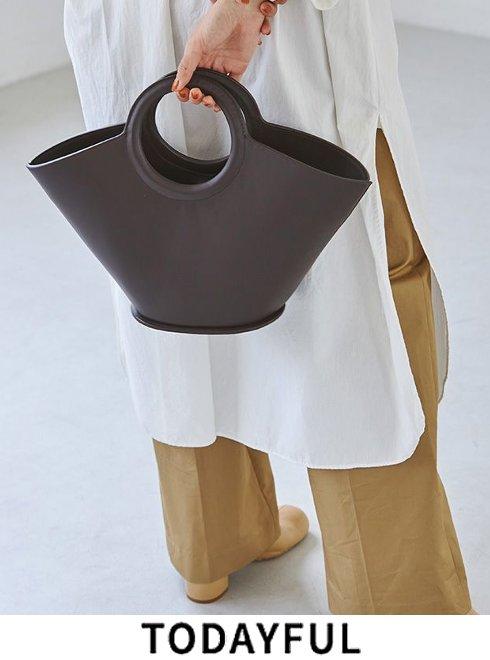 TODAYFUL (トゥデイフル)<br>Circle Handle Bag  2021秋冬予約【12121005】ハンド・ショルダーバッグ 入荷予定 : 8月中旬〜