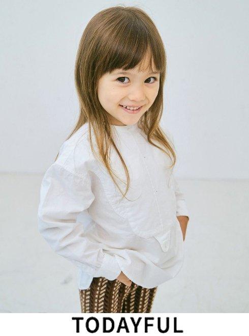 TODAYFUL (トゥデイフル)<br>Cotton Dress Shirts (KIDS)  2021秋冬【32120401】ワンピース