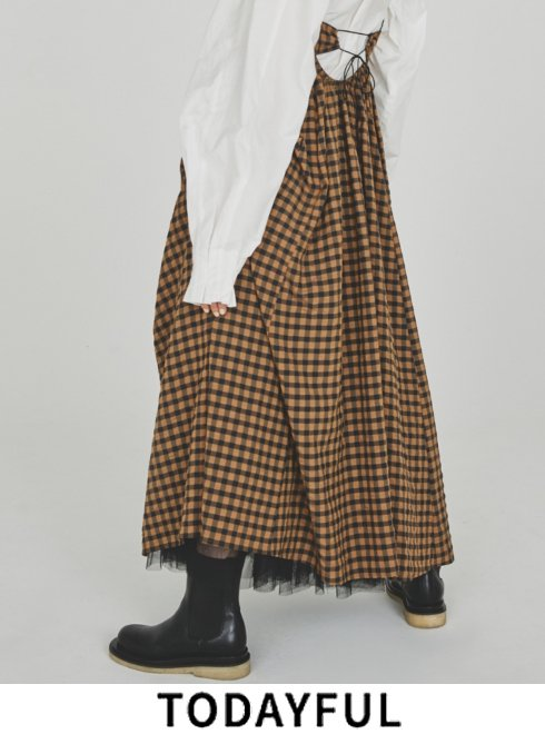 TODAYFUL (トゥデイフル)<br>Leather Middle Boots  2021秋冬予約【12121013】ブーツ 入荷予定 : 9月中旬〜