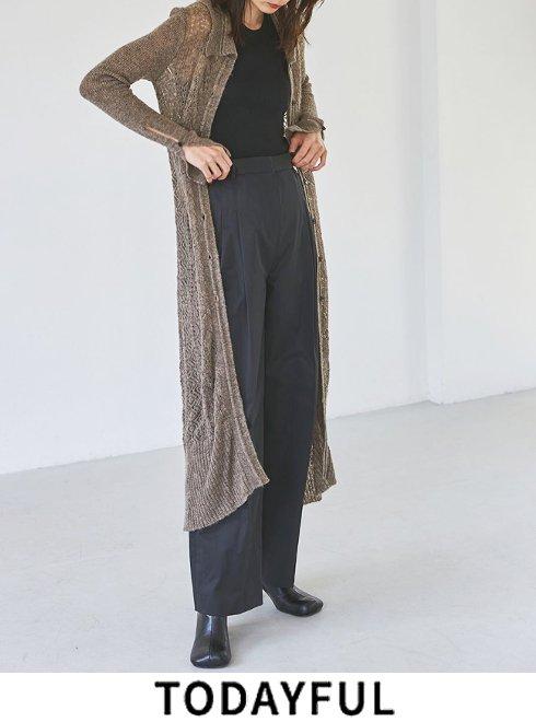 TODAYFUL (トゥデイフル)<br>Patchwork Lace Cardigan  21秋冬【12120510】カーディガン