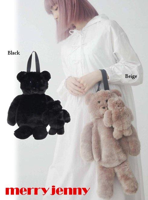merry jenny (メリージェニー)<br>with child bear bag  21秋冬予約【282141901301】ハンド・ショルダーバッグ 入荷予定 : 8月中旬〜