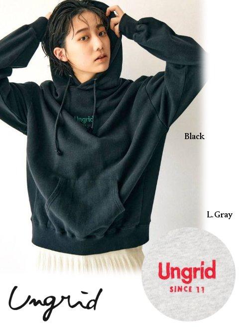 Ungrid (アングリッド)<br>Ungridエンブロイダリーパーカー  21秋冬【112152717201】スウェット・パーカー