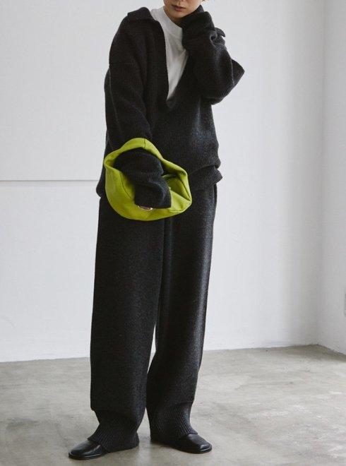 TODAYFUL (トゥデイフル)<br>Softwool Wide Pants  21秋冬.予約【12120716】パンツ 入荷予定 : 11月中旬〜