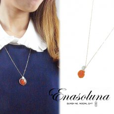 Enasoluna(エナソルーナ) <br>Beautiful Earth necklace◆サエコさん愛用◆【NK-780】 ネックレス