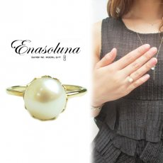 Enasoluna(エナソルーナ) <br>'Innocent pearl ring' 【RG-813】