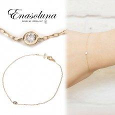 Enasoluna(エナソルーナ)<br>Ena dia bracelet【EN-BS-921】 ブレスレット・アンクレット