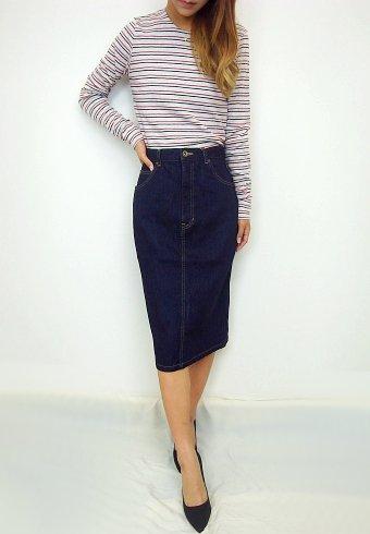 BannerBarrett(バナーバレット)<br>デニムスカート  【14305214】 タイトスカート sale