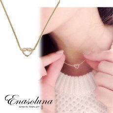 Enasoluna(エナソルーナ)<br>forget me knot necklace 予約【NK-1021】