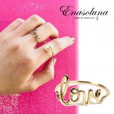Enasoluna(エナソルーナ)<br>Love ring  予約【RG-979】  リング 入荷時期:12月上旬〜
