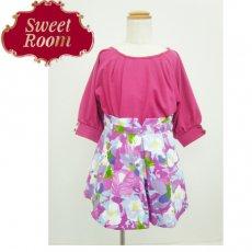 Sweet Room (Little deicy,me kidsライン)<br>オリジナル花柄スカート  15春夏【711902】 ボトム