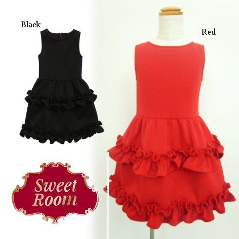 Sweet Room (Little deicy,me kidsライン)<br>フリルギャザードレス  15春夏.【712217】 ワンピース sale