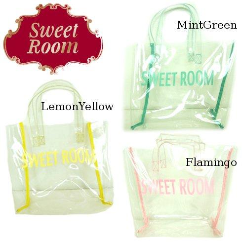 Sweet Room (Little deicy,me kidsライン)<br>ビニールトートBAG  15春夏.【369396】 バッグ・シューズ sale