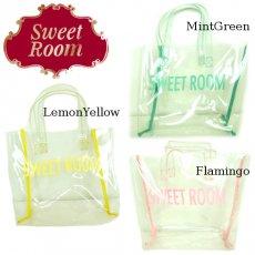 Sweet Room (Little deicy,me kidsライン)<br>ビニールトートBAG  15春夏.【369396】 バッグ・シューズ