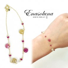 Enasoluna(エナソルーナ)<br>Girls talk bracelet  【BS-1051】