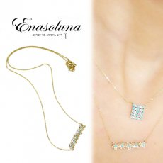 Enasoluna(エナソルーナ)<br>Little flower necklace 【NK-1056】