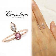 Enasoluna(エナソルーナ)<br>Dreaming ring marquis  【RG-1087】 リング