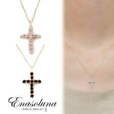 Enasoluna(エナソルーナ)<br>Light And Shadow necklace【NK-728】 ネックレス