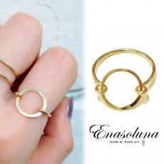 Enasoluna(エナソルーナ)<br>Oh ring 【RG-1107】 リング