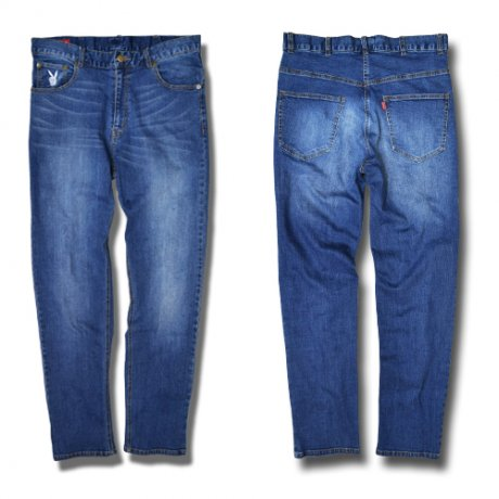 afterbase [D-BOY] STRETCH DENIM PANTS