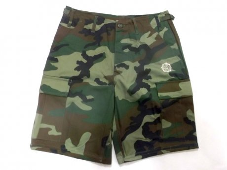 GRAPEVINE ASIA STAMP CARGO SHORT PANTS (W.L.CAMO)
