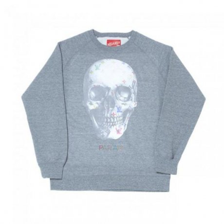 SQUARE / LV SKULL CREW NECK SWEAT