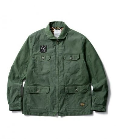 <img class='new_mark_img1' src='https://img.shop-pro.jp/img/new/icons20.gif' style='border:none;display:inline;margin:0px;padding:0px;width:auto;' />CLUCT / VINTAGE FIELD JACKET(ARMY)