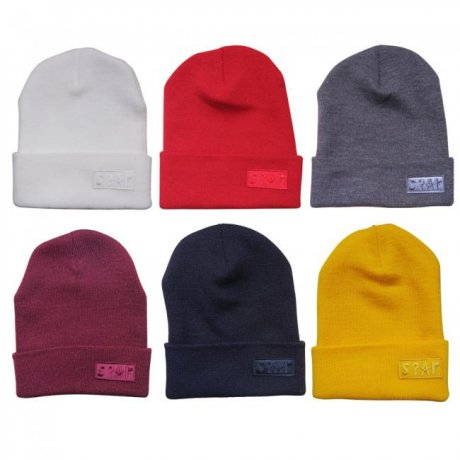 SQUARE / BOX LOGO KNIT CAP